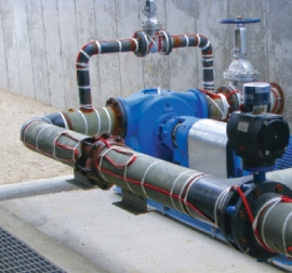 External pipe heating systems maintain temperatures of liquid transit systems and avoid freezing.