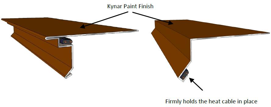 Sfp Drip Edge Heated Roof Panel Roof Panel System