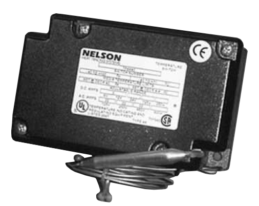 The Nelson TF4X40 Thermostat is used for controlling heat trace systems in standard locations.