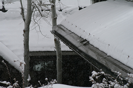 "SnoFree™ 12"" eave roof panels are also able to be applied directly to existing metal roofs."