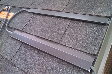 Sfp Sch Shingle Cable Holder Roof Panel Heat Trace Systems