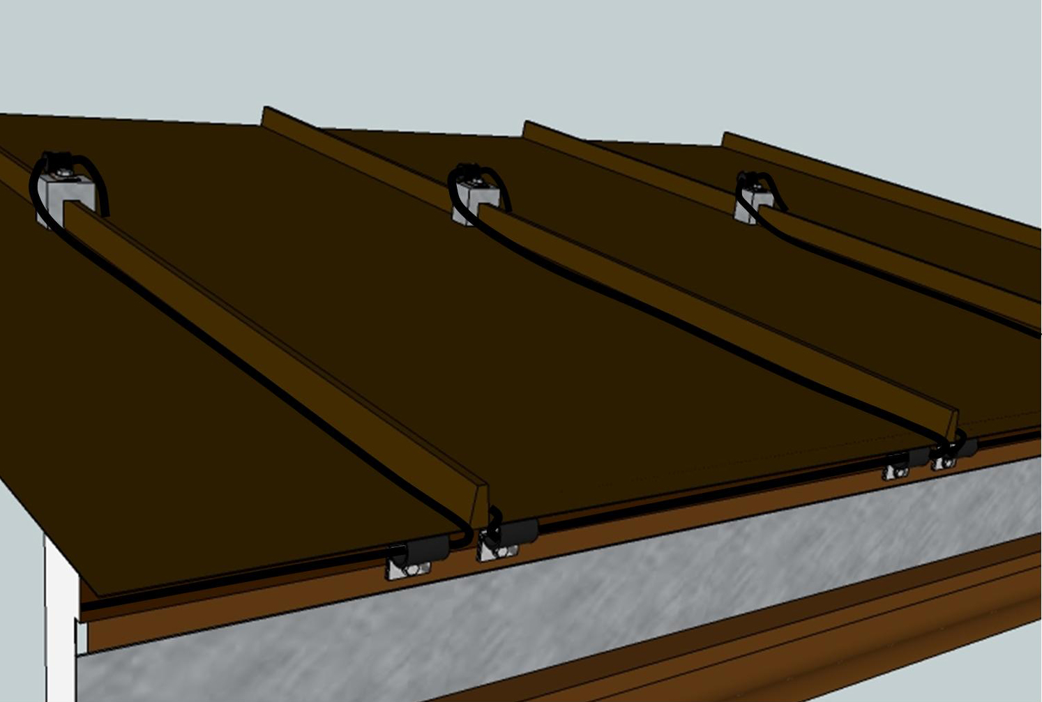 Zig Zag Roof Heat Cables Heat Trace Specialists